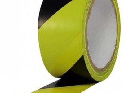 Taśma samoprzylepna żółto czarna 5cmx33mb