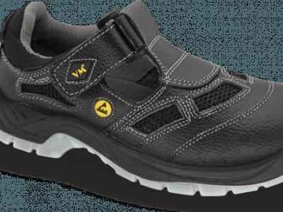 Sandały bezpieczne VM BERN BLACK 2885 S1 ESD 40-46