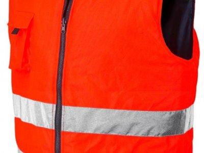Kamizelka dwustronna Reverse Industrial Starter pomarańczowa S-XXXL
