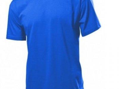 T-shirt Stedman kolor niebieski