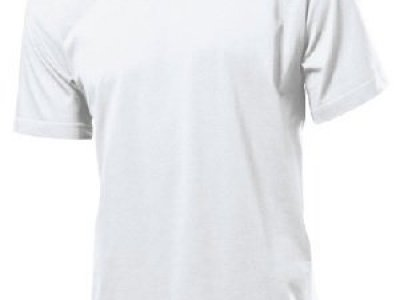 T-shirt Stedman kolor biały