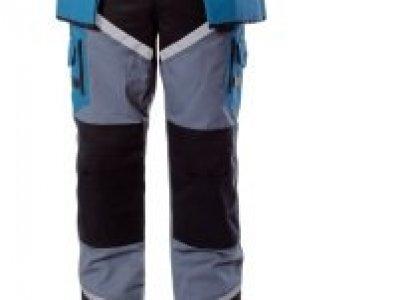 Spodnie LAHTI PRO czar-szar-turk z pasami odblaskowymi